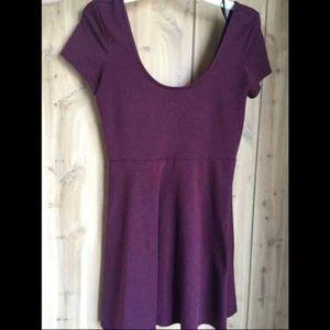Forever 21 Basic Burgundy Maroon Dress